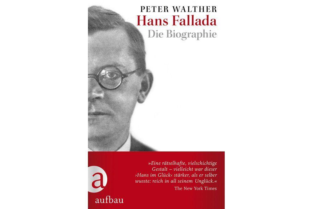 Peter Walther: Hans Fallada. Buchcover: Aufbau Verlag