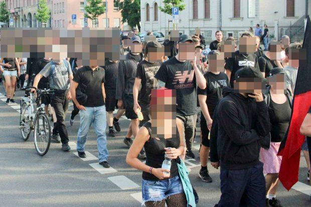 Antirepressionsdemo am 3. Juli 2017 in Leipzig. Foto: Martin Schöler
