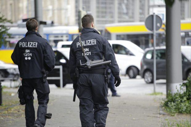 Bewaffnete Polizei im Einsatz. Foto: L-IZ.de
