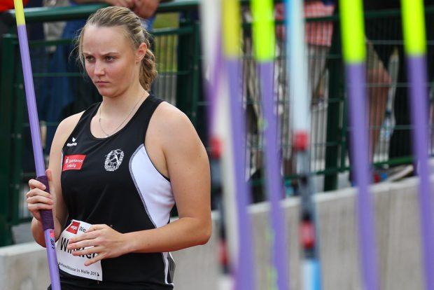 Die deutsche U23-Meisterin Christine Winkler (SC DHfK) kam auf EM-Platz 12 ein. Foto: Jan Kaefer