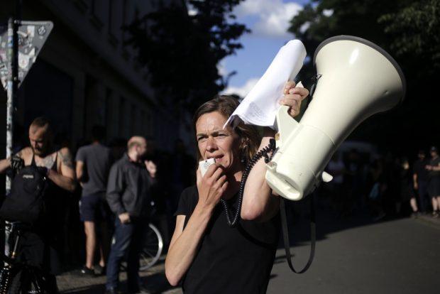 Anmelderin Juliane Nagel. Foto: Alexander Böhm