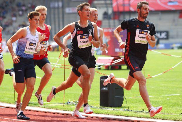 Felix Rüger kann sich im Finale über 1.500 Meter für eine großartige Saison belohnen. Foto: Jan Kaefer