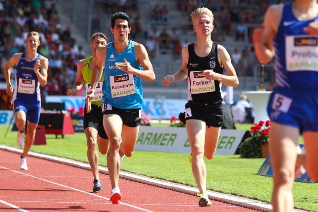Als amtierender Deutscher Hallenmeister ist Robert Farken im 800 Meter-Finale der Gejagte. Foto: Jan Kaefer