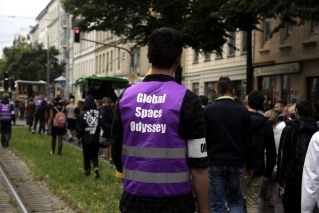 Die GSO auf der Karli Richtung Zentrum. Foto: L-IZ.de