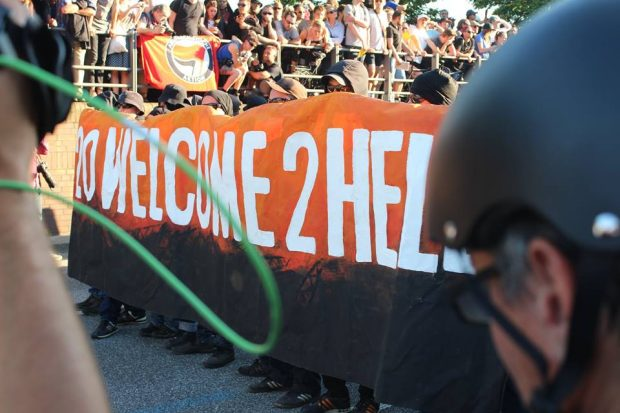 Welcome Hell Demonstration. Foto: Jürgen Kasek