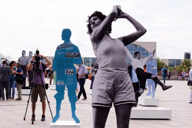 """Ausstellung """"Zwischen Erfolg und Verfolgung"""". Foto: Laura Soria"""