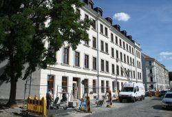 Hanns Eislers Geburtshaus Hofmeisterstraße 14. Foto: Ralf Julke