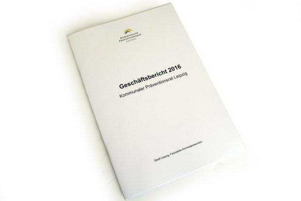 Geschäftsbericht 2016 des Kommunalen Präventionsrates Leipzig. Foto: Ralf Julke