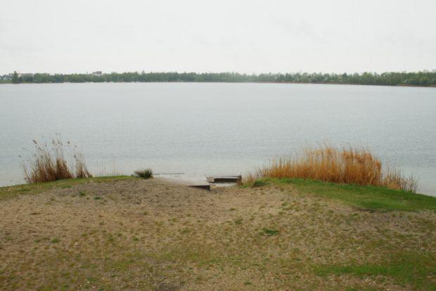 Blick über den Kulkwitzer See. Foto: Ralf Julke