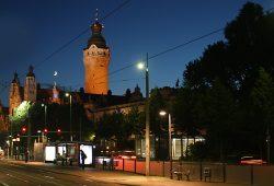 Neues Rathaus. Foto: Ralf Julke
