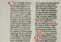 Handschrift aus der Bühner-Sammlung. Foto: Universitätsbibliothek Leipzig