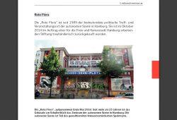 Seite 95 aus dem Hamburger Verfassungsschutzbericht 2017. Screenshot: L-IZ