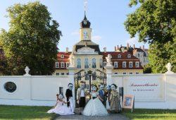 Sommerbühne im Gohliser Schlösschen. Foto: Helga Schulze-Brinkop, Freundeskreis Gohliser Schlösschen