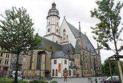 Thomaskirche mit nördlichem Thomaskirchhof. Foto: Gernot Borriss