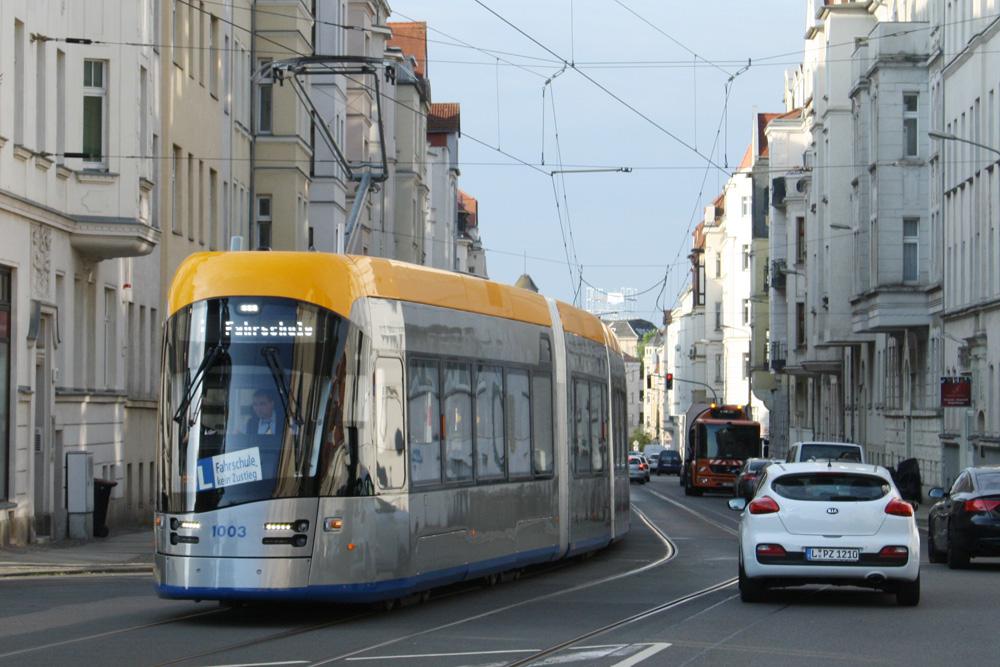 XL unterwegs in Gohlis. Foto: Ralf Julke