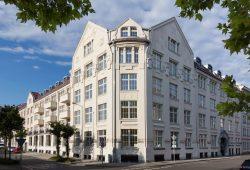 Planmäßige Fertigstellung des Industriedenkmals in der Oststraße 24. Foto: Instone Real Estate Leipzig