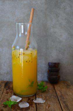 Mango-Maracuja-Eistee. Foto: Maike Klose