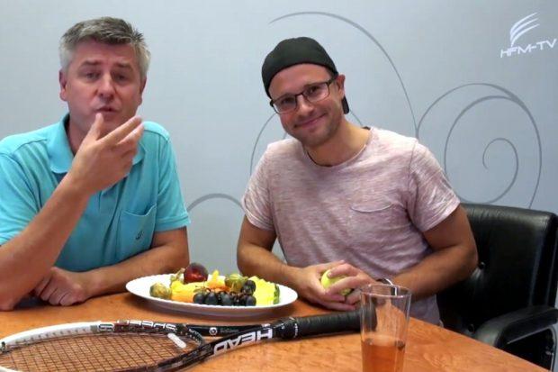 """Norman Landgraf und Martin Hoch machen das """"Vorspiel"""" im Netz. Screen Video Heimspiel TV"""