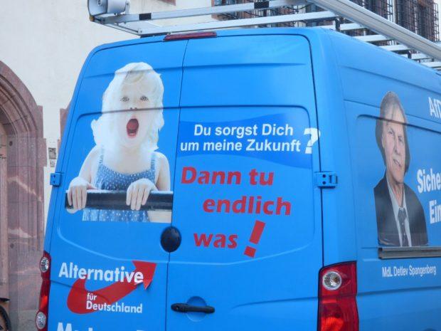 Der Schrei der AfD nach Aufmerksamkeit? Foto: Lucas Böhme