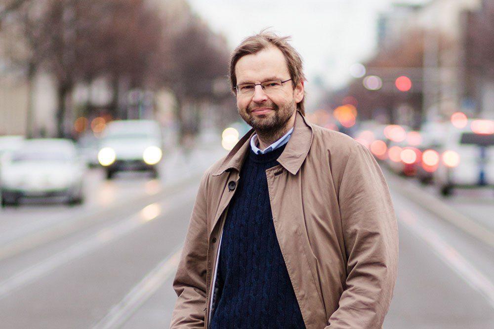 Rüdiger Wink, Professor für Volkswirtschaftslehre an der HTWK Leipzig. Foto: Johannes Ernst/HTWK Leipzig