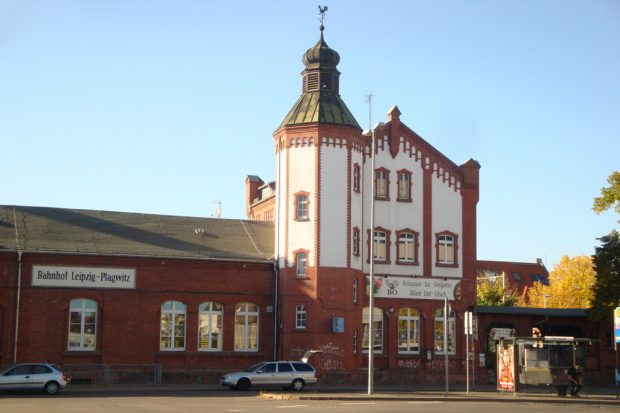 Bahnhof Plagwitz. Foto: Gernot Borriss