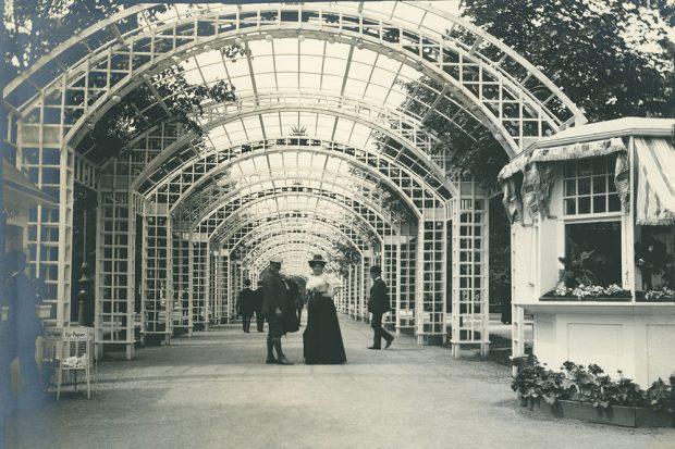 Rudolf Bruner-Dvořák, Dresden 1909. Foto: Sammlung Scheufler