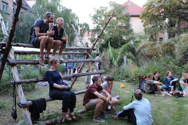 Bülowstraßenmusikfestival 2016. Foto: Förderverein Bülowgärten e.V.