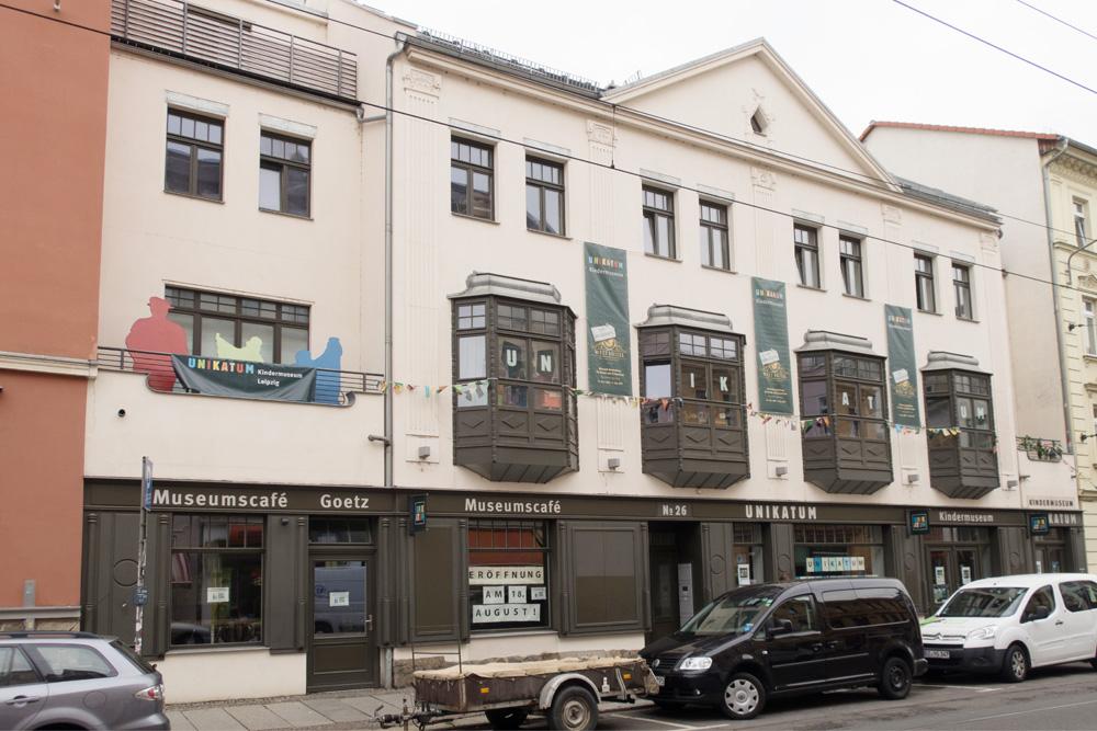 Das Museumscafé Goetz in der Zschocherschen Straße. Foto: UNIKATUM Kindermuseum