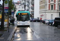 Seit einem Jahr testen die LVB einen E-Bus auf Linie 89. Foto: Ralf Julke
