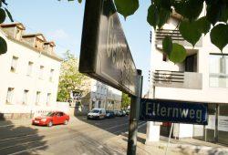 Ellernweg / Georg-Schwarz-Straße in Leutzsch. Foto: Ralf Julke