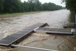 Hochwasser an der Weißen Elster 2013. Foto: Marko Hofmann
