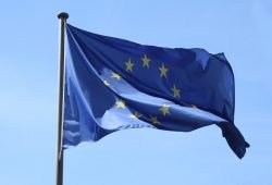 Europa-Flagge. Foto: Ralf Julke