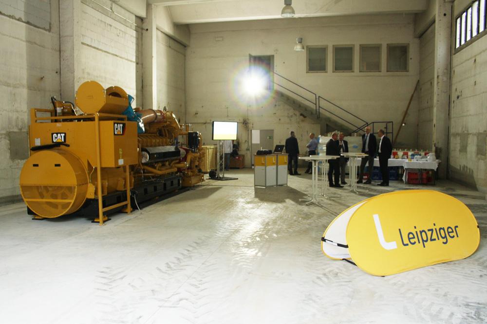 Blick in die neue Energiestation. Foto: Ralf Julke