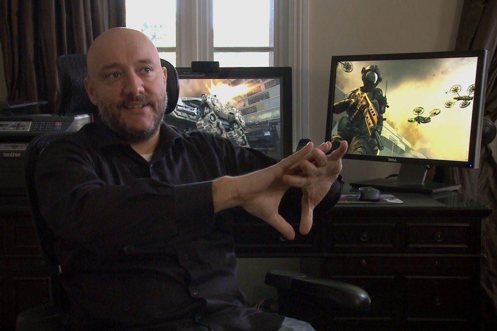 """""""Krieg und Spiele"""" – Dave Anthony, Entwickler """"Call of Duty – Blacks Ops"""". © Bildersturm Film"""