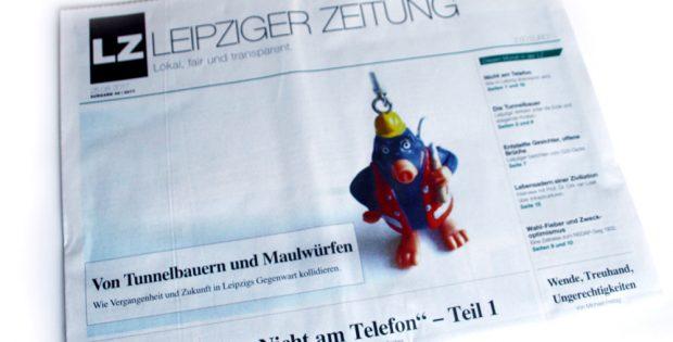 Leipziger Zeitung Nr. 46. Foto: Ralf Julke