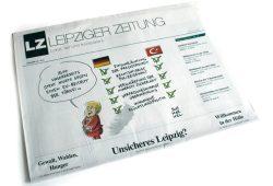 Leipziger Zeitung Nr. 45: Unsicheres Leipzig? Foto: Ralf Julke
