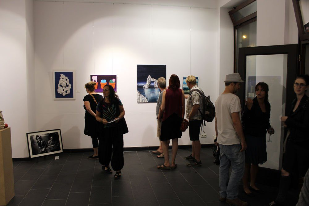 Nacht der Kunst - Auktion 2016. Foto: Nadine Böttcher
