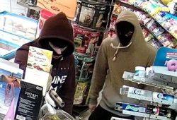 Wer erkennt die beiden Täter? Foto: PD Leipzig
