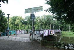 Rennbahnbrücke. Foto: Ralf Julke
