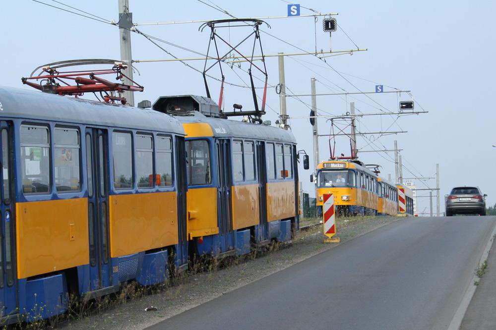 Robustes Zugpferd: Tatra-Straßenbahn. Foto: Ralf Julke