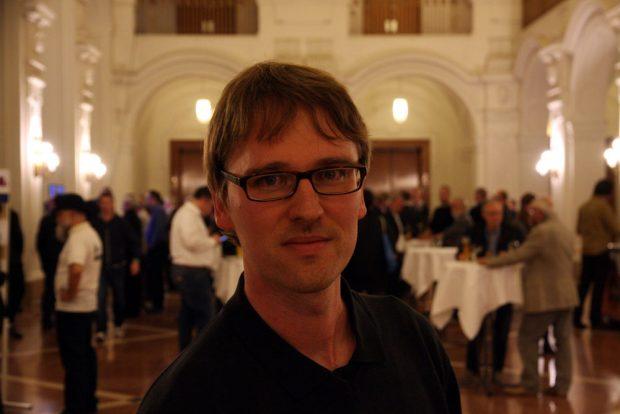 Adam Bednarsky, Wahlkampfmanager von Sören Pellmann (Die Linke). Foto: L-IZ.de