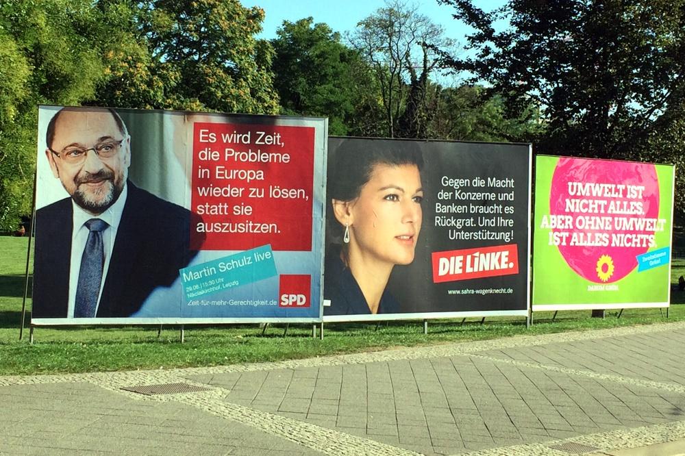 Meinungsbildung durch Meinungsumfragen: Trotz 40 Prozent Unentschlossener bereits zum Verlierer umgefragt. Foto: L-IZ.de
