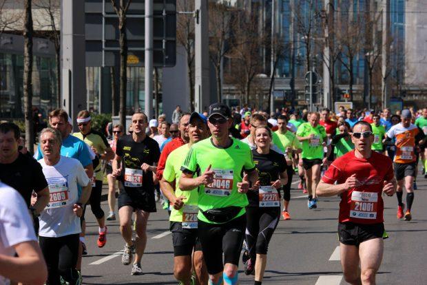 Impressionen vom 41. Leipzig Marathon. Foto: SachsenSportMarketing GmbH