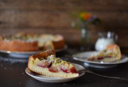 Pflaumenkuchen auf Öl-Quark-Teig. Foto: Maike Klose