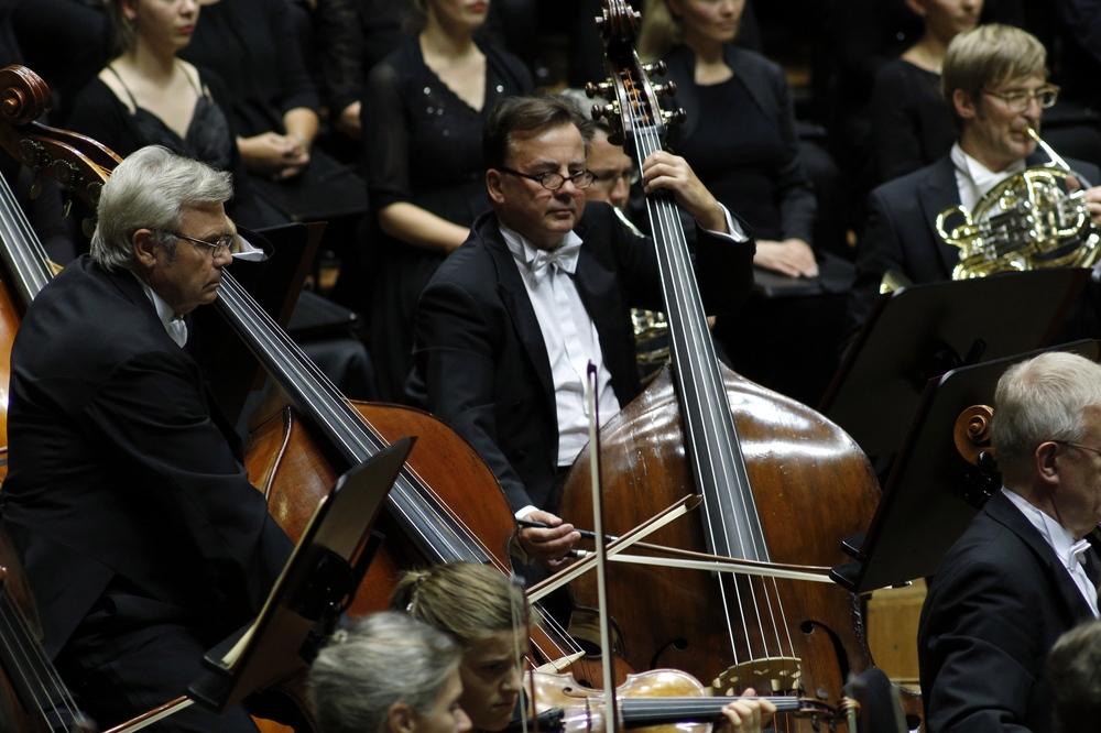 Das Gewandhausorchester. Foto: Alexander Böhm