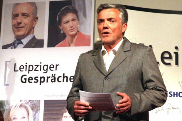 Der Moderator Thomas Bille (ua. MDR). Foto: L-IZ.de
