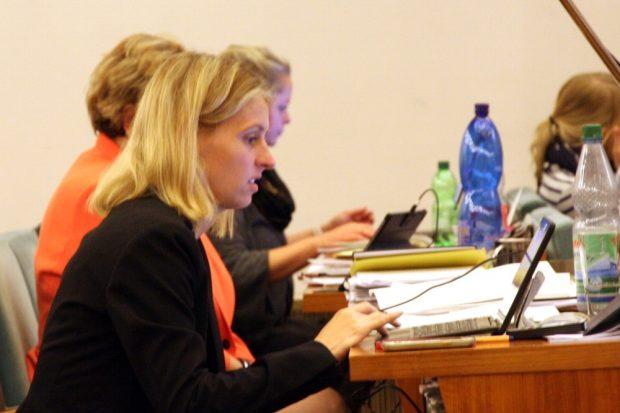 Franziska Riekewald (Linke). Foto: L-IZ.de