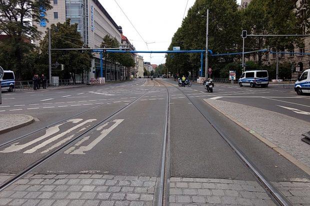 18:40 Uhr. Immer wenn unser Fotograf mal allein sein will geht er die Legidastrecke ab. Foto: L-IZ.de