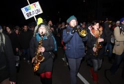 Leipziger Gegenprotest gegen Legida 2015. Laut, bunt und entschlossen. Foto: L-IZ.de
