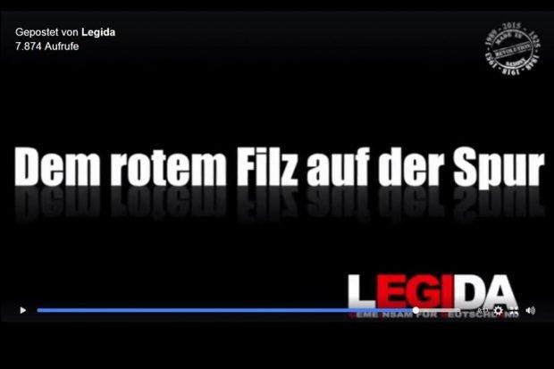 Legida mobilisiert: Gegen den Untergang der Sprache! Foto: L-IZ.de